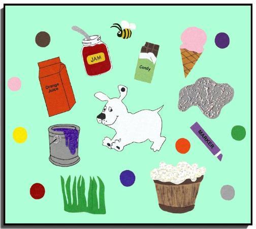 Dog S Colorful Day Storytelling Felt Set