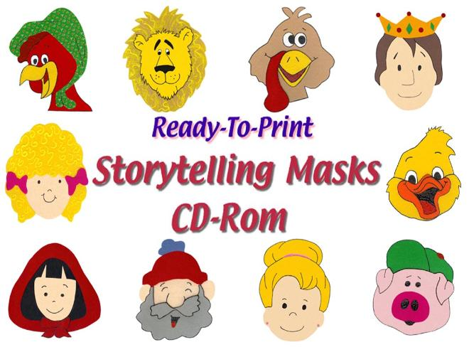 storytelling sets cd printables extensions masks payment shipping ...